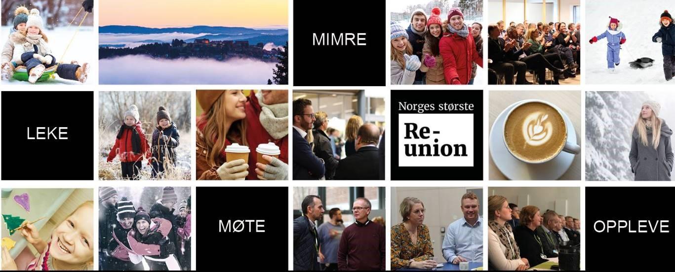 Kom på Norges største reunion